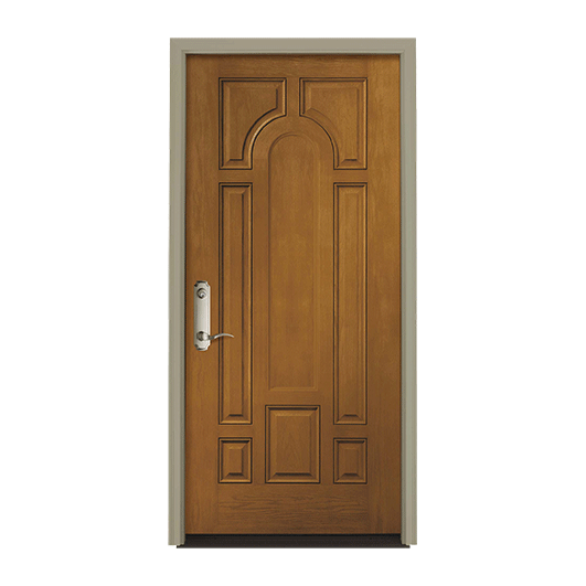 Pella Center Arch Entry Door Solid Panel